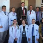 Visiting Professor Thomas Pugh with DHO residents and chair