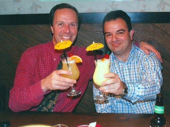 2006 Sergio Benavente Farewell dinner