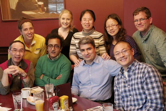 Harari Lab -- Farewell lunch for Mahmoud Toulany 2014