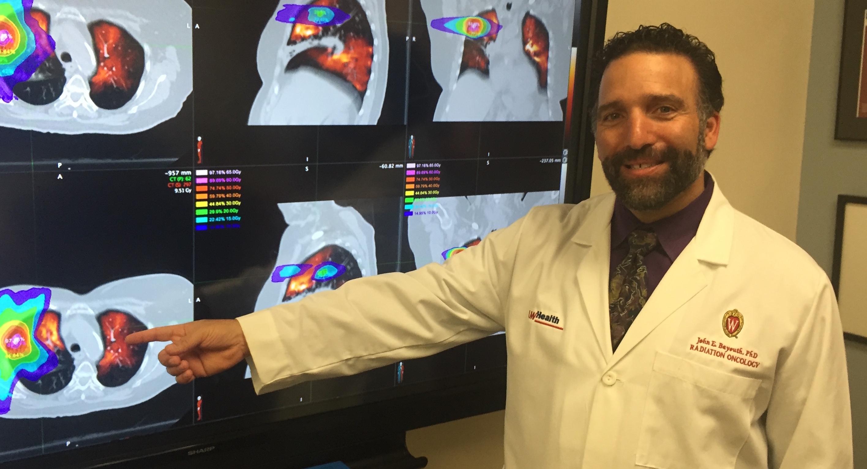 John Bayouth and lung MRIs