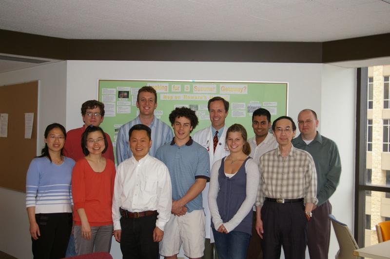 Chunrong, Eric, Harari Lab, 2008: Mari Iida, Tien Hoang, Tim Kruser, Chris, Meghan, Amol Ghia, Shyhmin Huang, Deric Wheeler