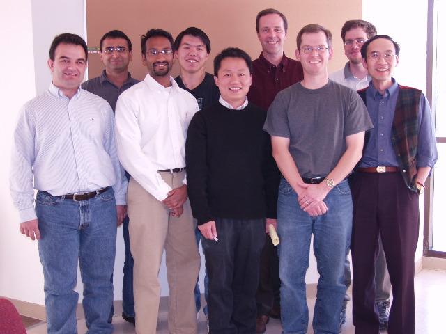 2004 Harari Lab: Sergio, Falgun, Prakash, KT, Tien, Paul, Greg, Eric, Shyhmin