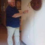 Brad Glassel rings end-of-treatment bell at UW Cancer Center–Johnson Creek