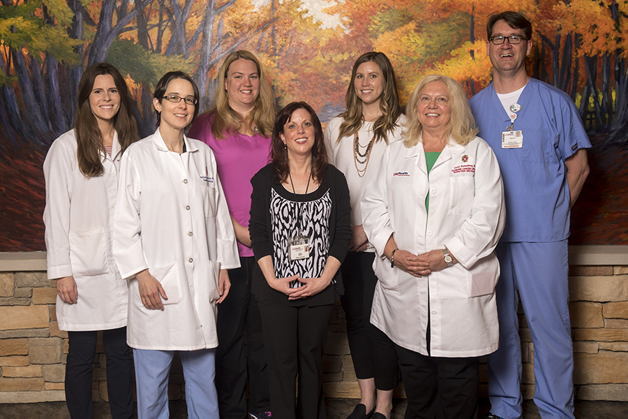 Physicists, radiation oncologists, nurses, schedulers, dosimetrists, advanced practice providers and radiation therapists represent just some of the people working to ensure the best treatment and care for you.