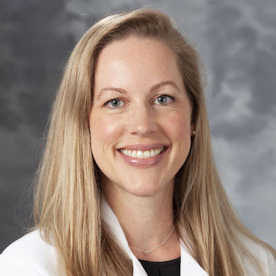 portrait of Pippa Cosper, MD, PhD, instructor in the Department of Human Oncology