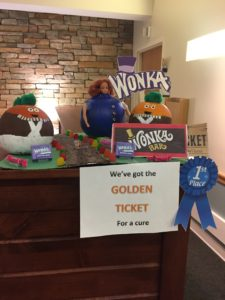 2019 pumpkin decorating contest winner: Willy Wonka