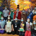 2020 UW Radiation Oncology Clinic staff in Halloween costumes