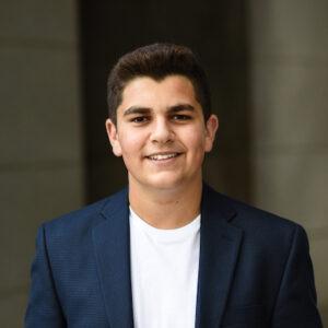Raad Allawi, undergraduate