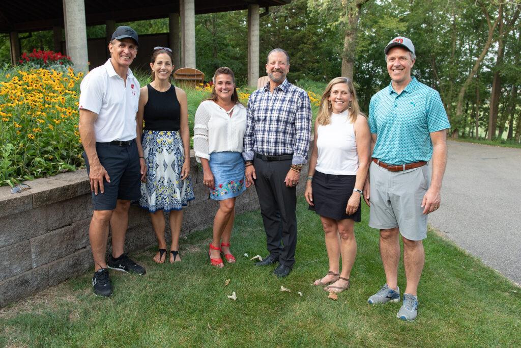 Heads Up! Golf Outing 2021 Tony and Linda Granato, Tracey and Tod Noffke, Sarah and Paul Harari